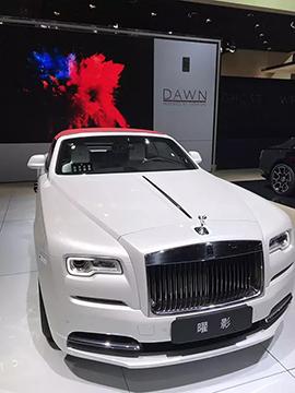 王思聪上海车展连买两辆劳斯莱斯 定价均超600万